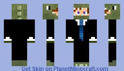 Minecraft Papercraft Dinosaur - business in dinosaur suit minecraft skin