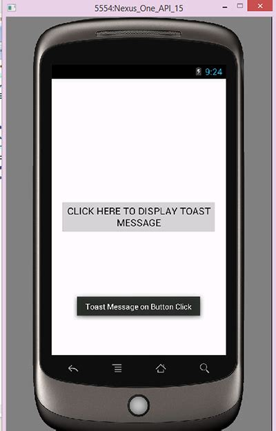 android toast exle android toast message widget exle tutorial android exles