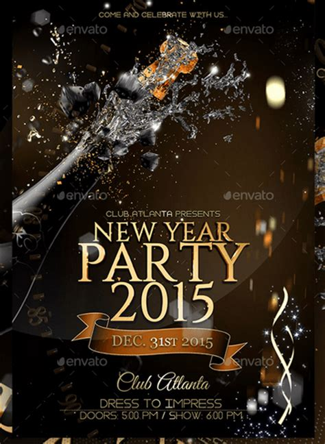 superstore new year flyer 50 cool new year flyer templates design freebie