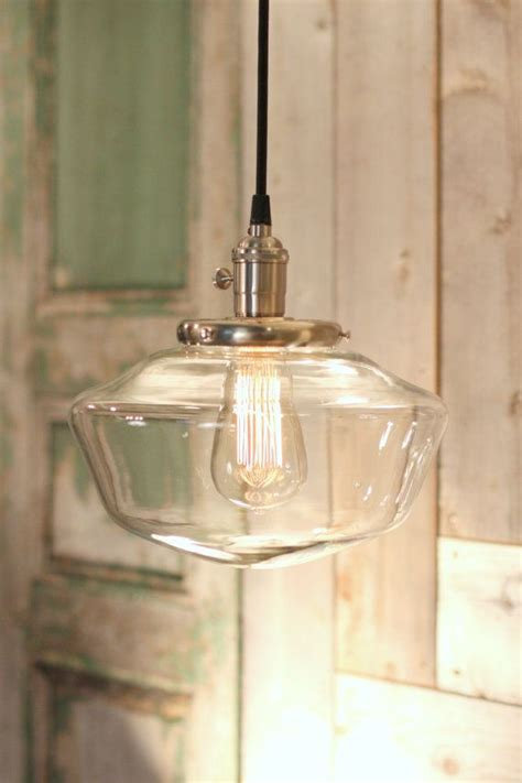 schoolhouse lights kitchen schoolhouse lighting with 10 quot clear schoolhouse glass