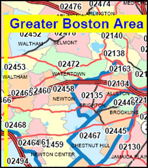 Free Address Lookup Ma Massachusetts Zip Code Map Including County Maps