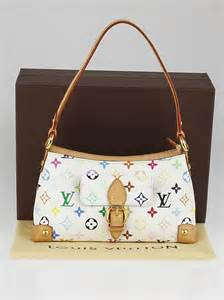 louis vuitton white multicolore monogram eliza bag yoogi