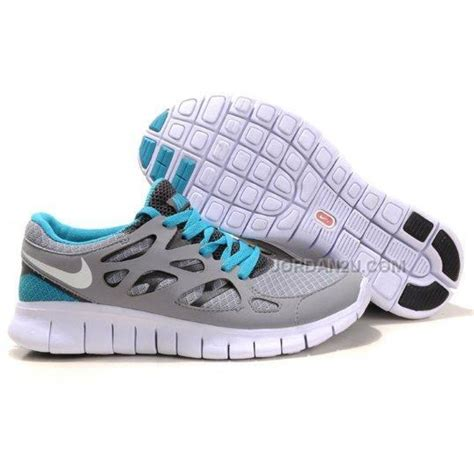 free run nike womens shoes nike free run 2 womens running shoes grey blue on sale