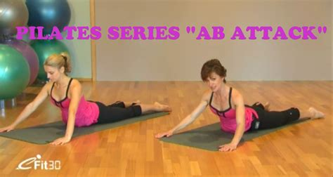Pilates Mat Series by Pilates Series Abs Attack Mat Workout 30 Minutes