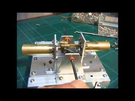 Handmade Steam Engine - handmade steam engine kosakuzissyu 140107 バルブ駆動リンク機構動