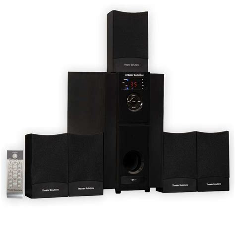theater solutions ts511 multimedia 5 1 powered home
