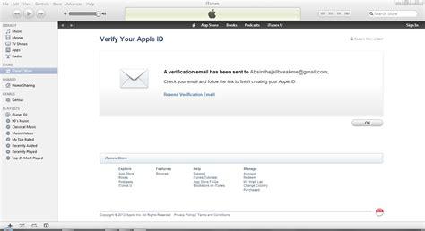 verifikasikan alamat email anda untuk membuat id apple baru cara membuat apple id gratis absinthe jailbreak me