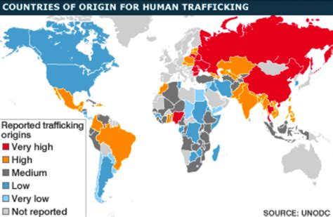 libro human trafficking a global countries of origin for human trafficking the abolitionist movement human