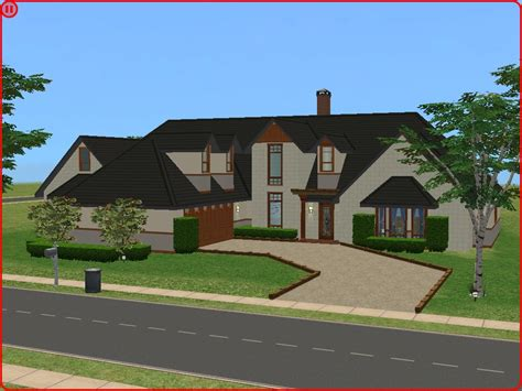 mod the sims cape cod luxury home