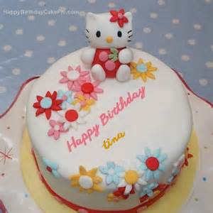 hello kitty birthday cake for tina