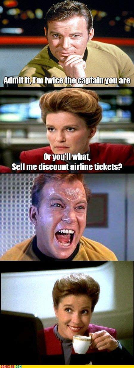 Star Trek Voyager Meme - 68 best star trek memes images on pinterest star trek