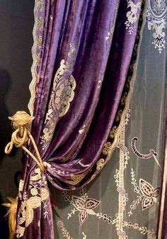 deep purple velvet curtains purple curtains on pinterest