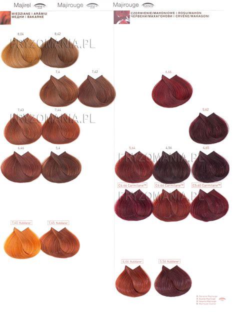 Majirel Hair Color Chart Ingredients 187 Hair Color Chart Trend Hair Color 2017 Loreal Majirel Majirouge Farba Do Włos 243 W Koloryzacja Trwała 50ml Fryzomania Pl Copper