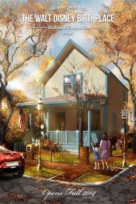 walt disney s childhood home to be reimagined as a museum
