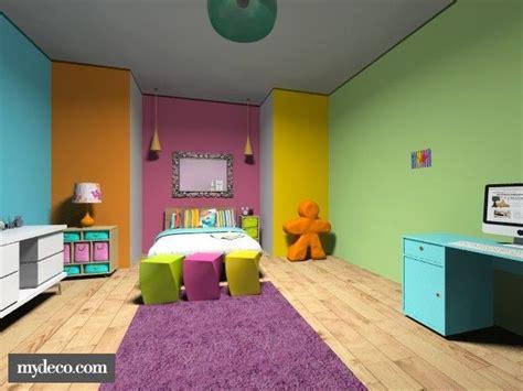 colored walls rainbow bedroom multi colored walls colorful home decor