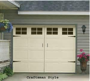 Garage Door Style Windows Garage Door Window Decal Craftsman Style Single Stall