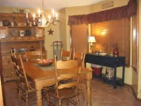 primitive dining room photos of primitive living rooms country girl at home our dining room love the black buffet
