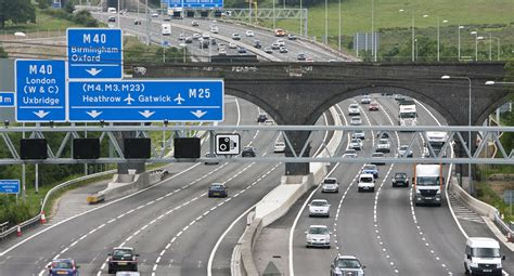 the motorpany we look after the m25 motorway for highways