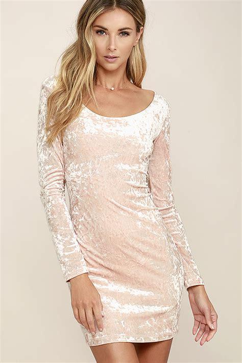 Dress Deja Vu by Blush Pink Dress Velvet Dress Bodycon Dress 39 00