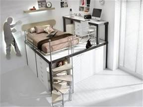 Cool Beds For Teens by Loft Beds For Teenagers Cool Teen Loft Beds Teen