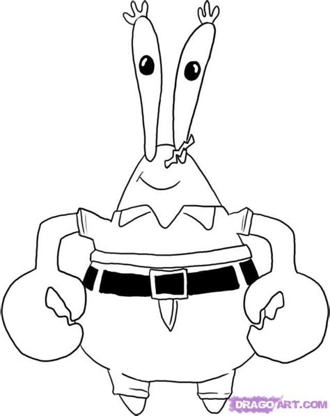 squidward coloring page az coloring pages
