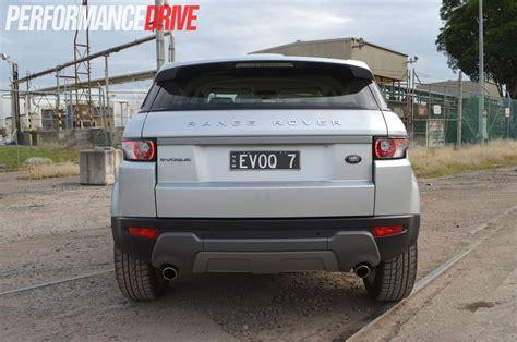 range rover evoque rear 2012 range rover evoque sd4 rear