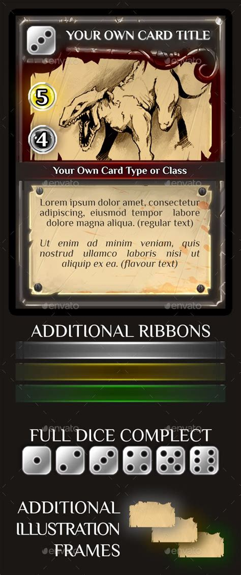 Collectible Card Templates by Trading Or Collectible Card Template Collectible
