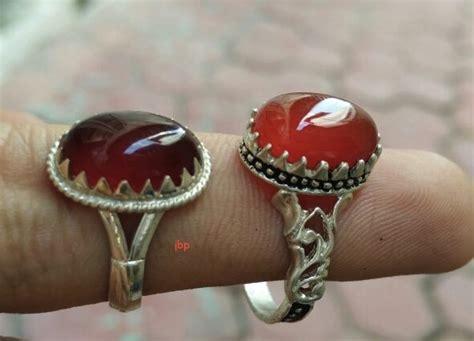 Ghri0002 Cincin Perak Kaligrafi jual cincin batu akik iran jualbatupirus