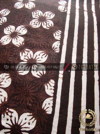 Atasan Kemeja Batik Hem Pria Motif Kawung Wajik Pekalongan jual bahan baju batik motif kawung prabu hitam garis
