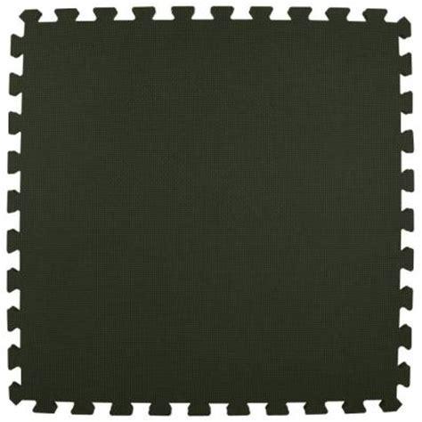 greatmats premium black 24 in x 24 in x 5 8 in foam