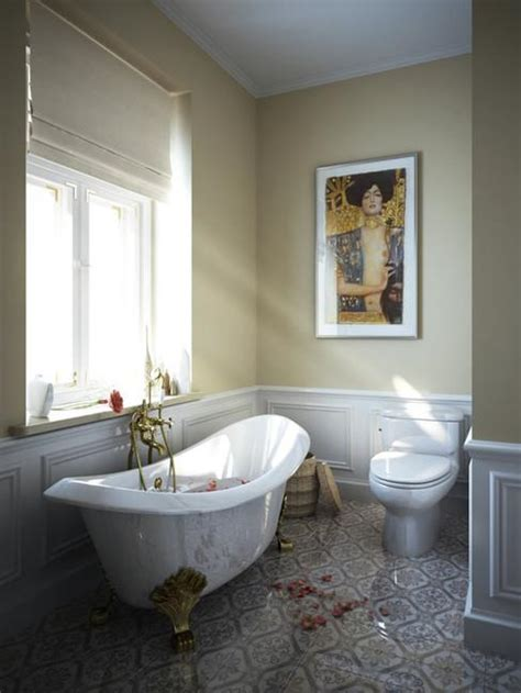 Vintage Bathroom Design Trends Adding Beautiful Ensembles Vintage Modern Bathroom