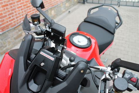 Motorrad Navi Forum 2015 by New Navihalter On My New Multistrada With Carbon