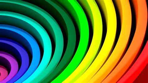 wallpaper 3d rainbow 3d rainbow rings wallpaper 1920x1080 cool pc wallpapers