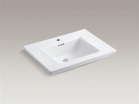 kohler memoirs kohler memoirs r stately 30 quot vanity top bathroom sink with single faucet contemporary