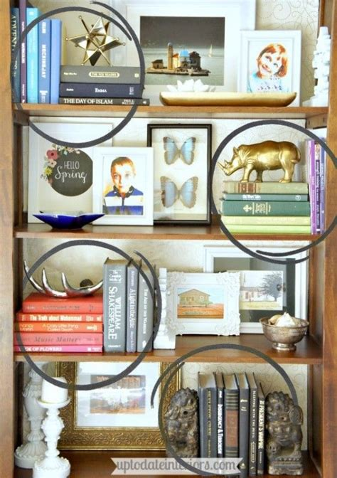 how to style a bookcase tips for styling a bookcase sprays patterns and libros