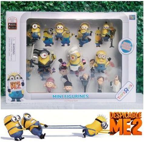Set Figure Despicable Me 3 Minion Item minion toys dolls set figurine minion despicable me