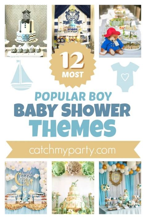 Popular Baby Shower Themes For Boys by The Catch My Page 1 Catch My