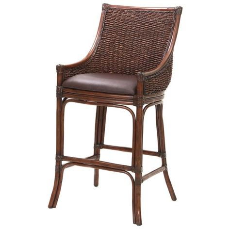 Wicker Top Bar Stools by 17 Best Ideas About Wicker Bar Stools On