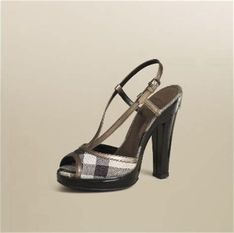 burberry pattern heels shoes obsession burberry platform sandal stylefrizz