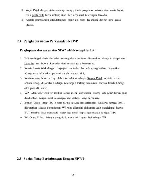 contoh surat kuasa khusus pajak mi putri