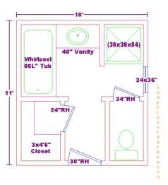 7 X 10 Bathroom Floor Plans 10 Bathroom Plans Bathroom Photo Gallery And Articles 10