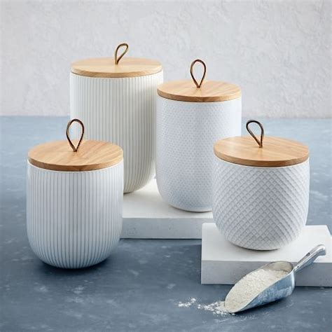 Texture Canister Set best 25 kitchen canisters ideas on country