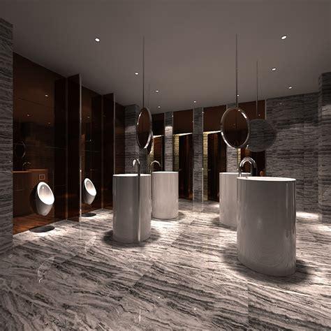 modern restrooms modern luxury restroom 3d model max cgtrader