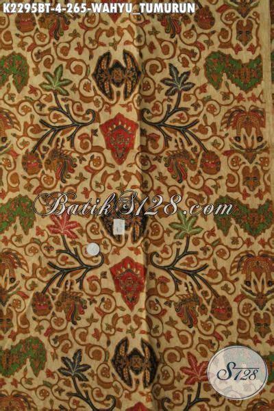 Kain Batik Printing Bt 018 kain batik klasik kombinasi tulis motif wahyu tumurun batik halus produk jawa tengah cocok