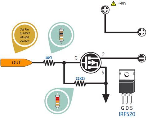 contoh perhitungan transistor sebagai saklar teknik menggunakan mosfet sebagai sakelar elektrologi