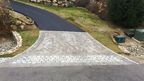 Patio Pavers Nh Driveway Paver Installation Bedford Nh