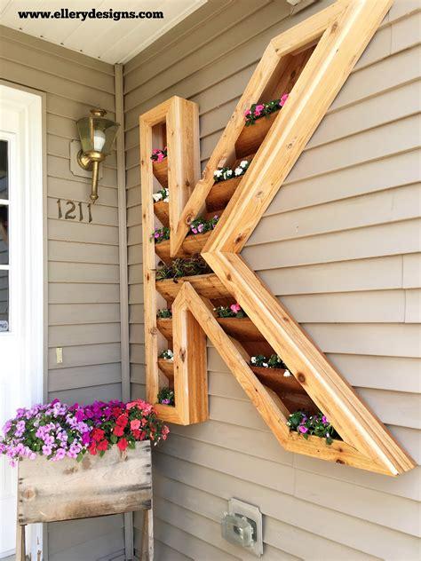 planter box designs diy cedar monogram planter box ellery designs