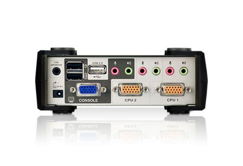 Murah Kvm Aten 4 Port Vga Audio Switch Vs0401 aten cs1732b aten desktop kvm switch