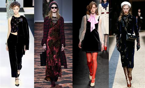 Trend Velvet by Fall Winter 2015 2016 Fashion Trends By Vogue Vogue