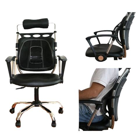 Mesh Chair Back Support by L New Car Seat Chair Mesh Back Lumbar Support Pad Cushion